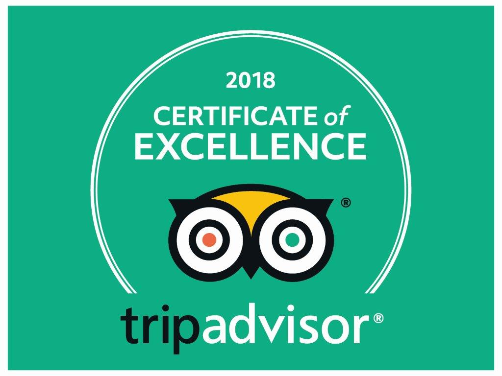 Excellence at Tripadvisor 2018