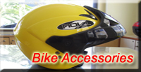 Bike accessories on rental bikes at Eurodriver